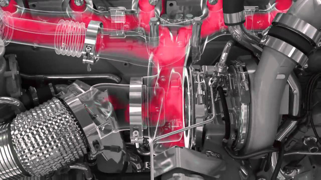 All of Scania´s Euro 6 engines received new engine management systems and the installations have been completely overhauled. In the new range, these engines reduce fuel consumption between three to five percent.