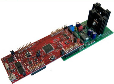Figure 2 - Digital Power BoosterPack with the C2000 LaunchPad
