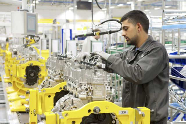 It takes time to change an organization of more than 8,000 employees.  The picture above is taken at Jaguar Land Rover new Engine Manufacturing Centre. It was opened in late October last year. At the time Jeremy Vincent said that the company was half way through the iPLM project.
