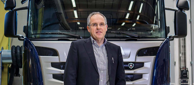 """""""The design principles, physical principles and many requirements of the body structures are the same in a sportcar as compared to a commecial vehicle,"""" claims Harald Ludanek. Until May of this year, Ludanek was EVP and head of R&D at Scania. Today, he holds a new position as head of development at Volkswagen Commercial Vehicles."""