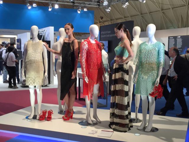 Danit Peleg's unique 3D-printed clothing collection.