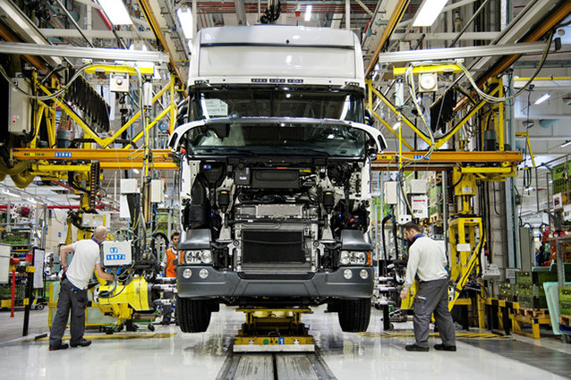 Tailor-made trucks are Scania's speciality. On average the company produces 1.2 trucks, out of 60,000 annually, with the same configuration.