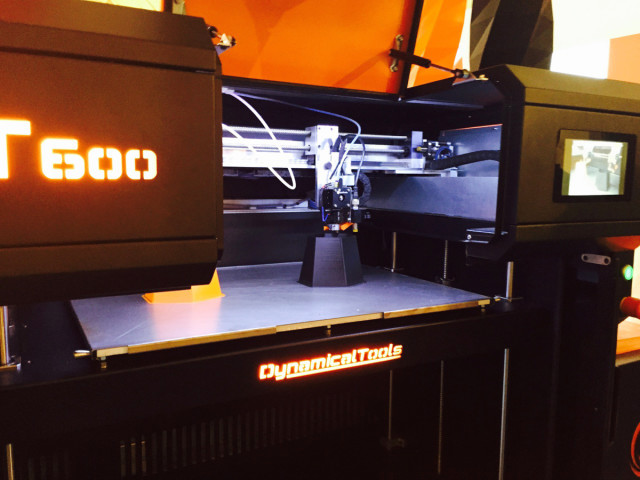 The new low-cost, industrial-grade DT-600 3D printer from Dynamical Tools.