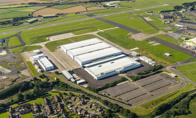 Aston Martin's St Athan facility. (Image courtesy of Aston Martin.)