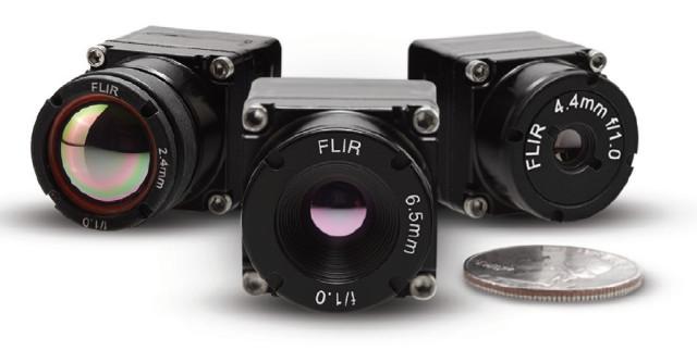 The FLIR Boson. (Image courtesy of FLIR.)