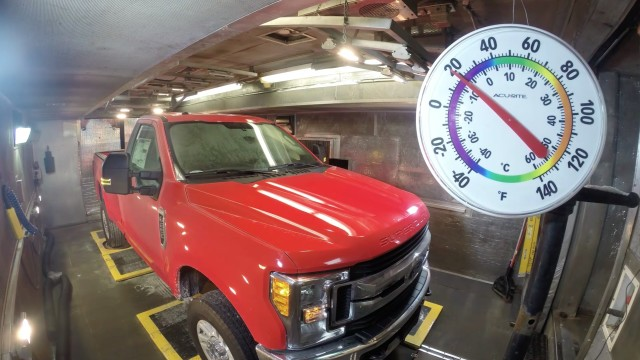 Ford vehicles are subjected to extreme temperatures.