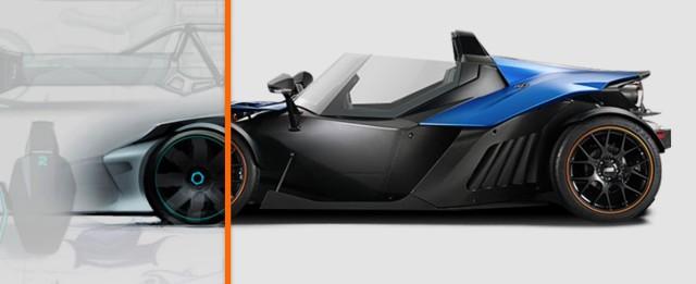 The KTM X-Bow.