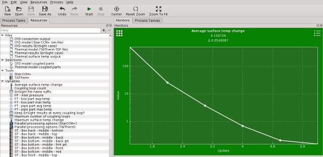 Sample screenshot of CoTherm results analysis. (Image courtesy of ThermoAnalytics.)