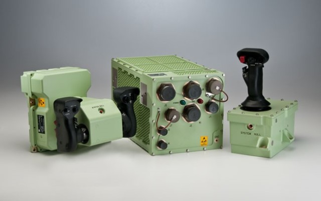 Elbit Systems of America Bradley control units. (Image courtesy of Elbit Systems Ltd.)