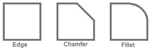 Chamfer Or Fillet It S More Than A Coin Toss