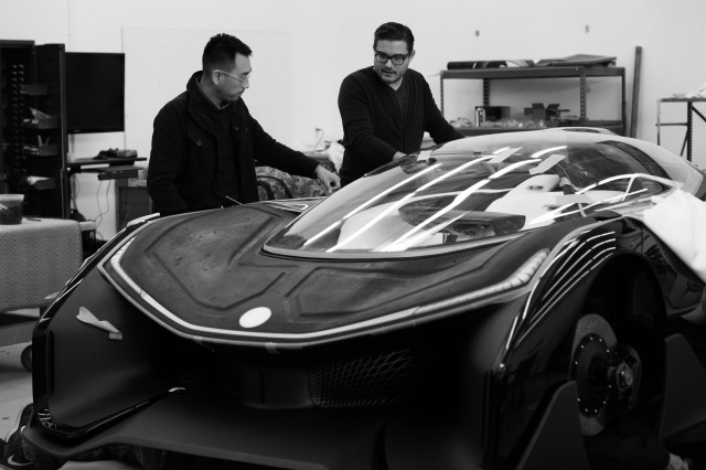 FFZERO1. (Photo courtesy of Faraday Future.)