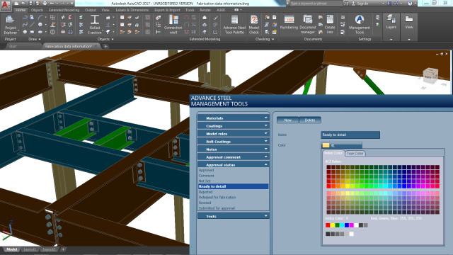 Users will be able to access and transfer fabrication data. (Image courtesy of Autodesk.)