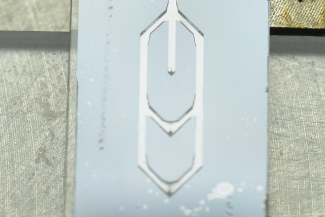 An example of the microfluidic sorting device. (Image courtesy of MIT.)