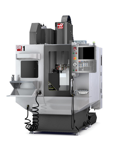 The DM-1 Vertical Machining Center. (Image courtesy of Haas Automation.)