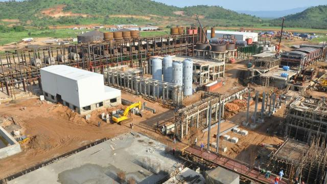 Hawassa industrial park under construction. (Image courtesy of Ethiopia Online.)