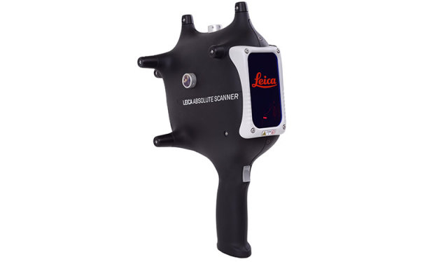 The Leica Absolute Scanner LAS-20-8. (Image courtesy of Hexagon Manufacturing Intelligence.)