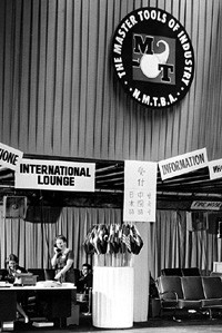 An international lounge was set up to accommodate the increasing number of international visitors attending the show. (Image courtesy of AMT.)