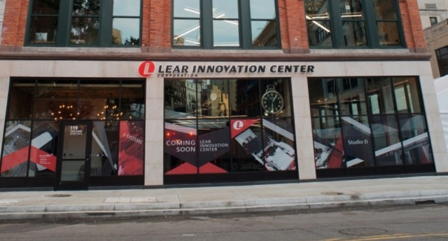 Lear Innovation Center in Detroit. (Image courtesy of Lear.)