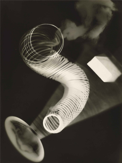 Man Ray, 1922, Untitled Rayograph, gelatin silver photogram, 23.5 x 17.8 cm. (Image courtesy of Man Ray Trust.)