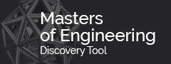 Considering an engineering Master's degree?  Find the right program for you with the Master's Discovery Tool.