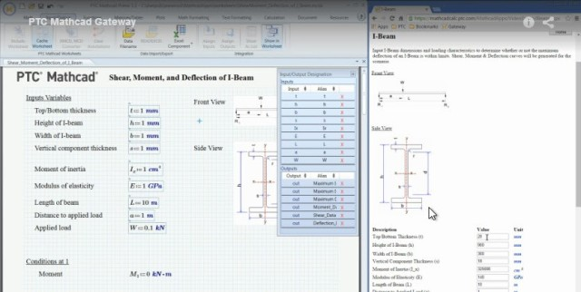 Share PTC Mathcad on Browsers and Mobile Devices > ENGINEERING.com