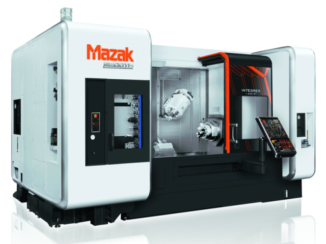 Mazak's INTEGREX i-400ST. (Image courtesy of Mazak.)