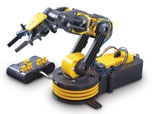 Available Hydraulic or Electric. (Image courtesy of OWI Robotics.)