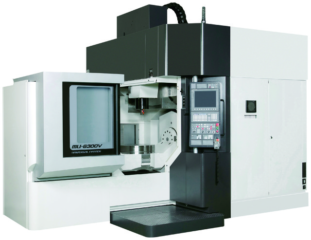 Okuma's MU-6300V 5-axis vertical machining center. (Image courtesy of Okuma.)