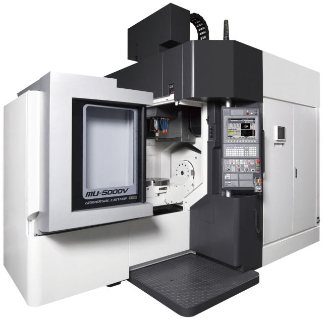 Machinery at IMTS 2016: 5-Axis Milling, 3-Axis Gundrilling and More