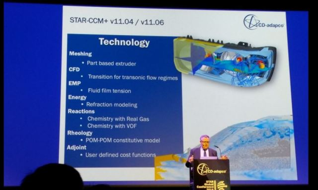 Ercolanelli outlines what technology improvements to expect in versions 11.04 and 11.06 of STAR-CCM+
