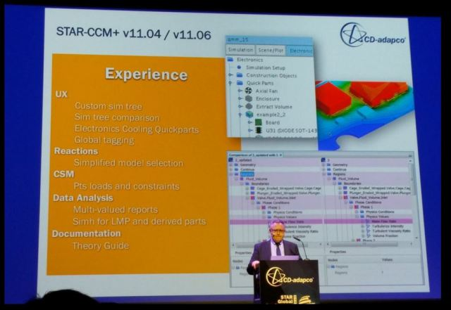 Ercolanelli explains how versions 11.04 and 11.06 of STAR-CCM+ will make life easier for engineers.
