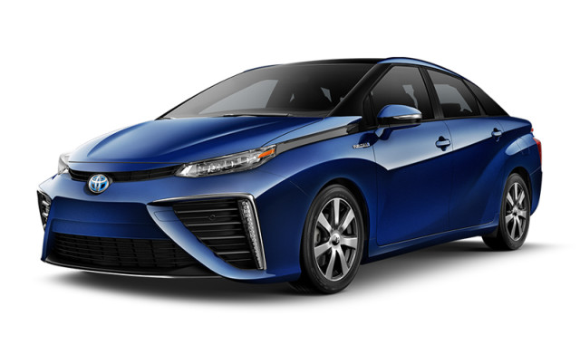 The Toyota Mirai. (Image courtesy of Toyota.)