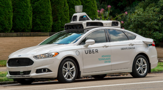 Uber's self-driving cars hit the roads in Pittsburgh in September 2016. (Image courtesy of Uber.)