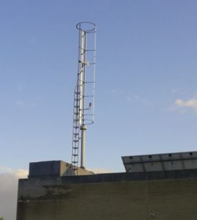 Vertical Axis Wind Turbine in a Bad Location