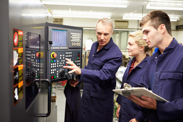 Training is essential to creating millennial machinists.