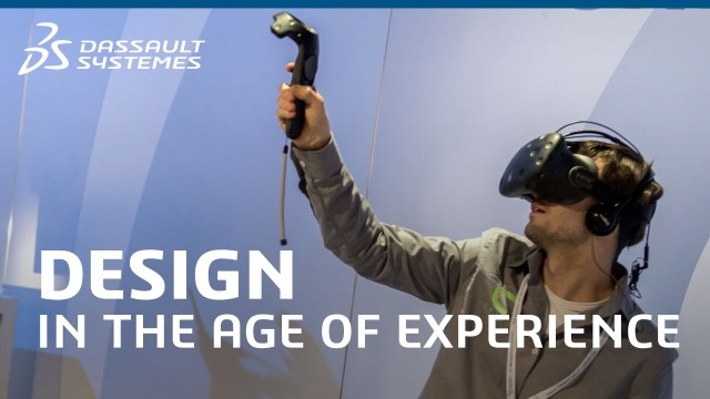 Dassault Systèmes and HTC partner up to emphasize the switch from CAVE to headset. (Image courtesy of Dassault Systèmes.)