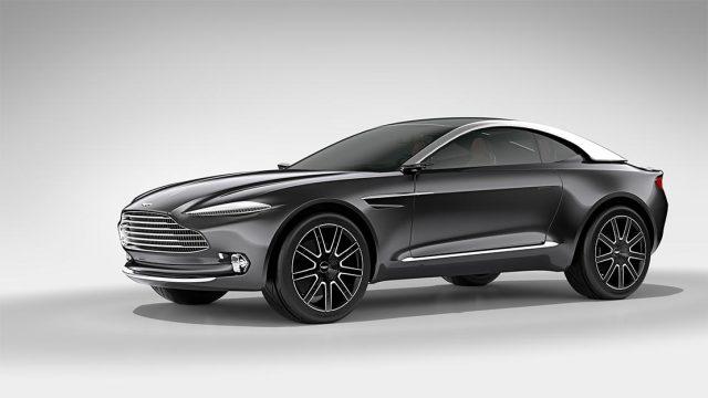 The Aston Martin DBX. (Image courtesy of Aston Martin.)