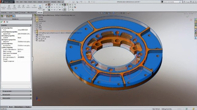 Delcam Releases SOLIDWORKS 2016 CAM Software > ENGINEERING com