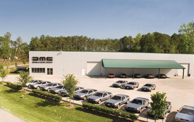 DMC headquarters in Humble, Texas.  DMC's headquarters in Humble, Texas (Image courtesy of DeLorean Motor Company.)