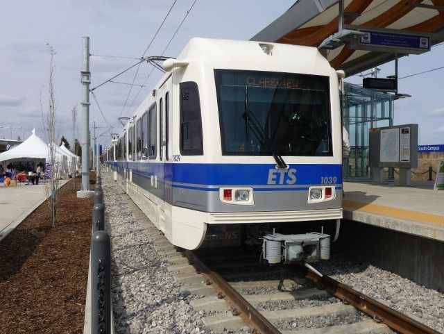 The light rail transit (LRT) system in Edmonton, Alberta could incorporate flywheel technology to save energy and money.