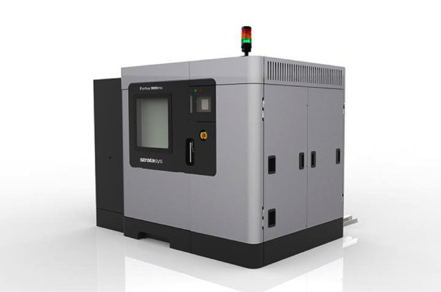 The new web-connected Fortus 900mc from Stratasys. (Image courtesy of Stratasys.)