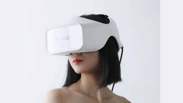 The Fove headset has been plagued by delays, but the eye-tracking features set it apart. (Image courtesy of Fove.)