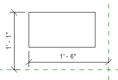 Figure 15. The temporary dimension turns into a permanent dimension.