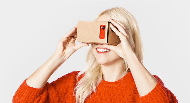 Google Cardboard has been used to test the interest in smartphone-powered VR, and the response has been positive enough to yield the promise of a new headset called Google Daydream that has more in common with Samsung Gear VR. (Image courtesy of Google.)