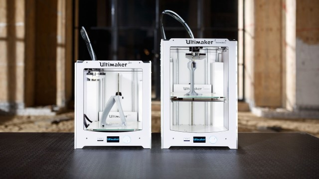The Ultimaker 2+ and Ultimaker 2 Extended+. (Image courtesy of Ultimaker.)