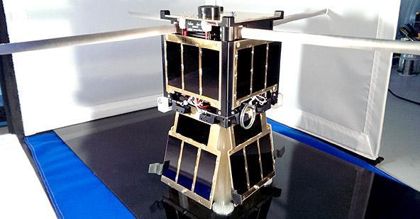 The KySat-2 CubeSat from University of Kentucky and Morehead State University. (Image courtesy of CRP USA.)