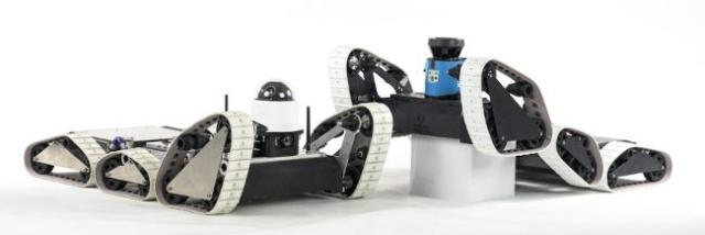 The ARTI platform from Transcend Robotics enables robots to easily climb over objects. (Image courtesy of Transcend Robotics.)