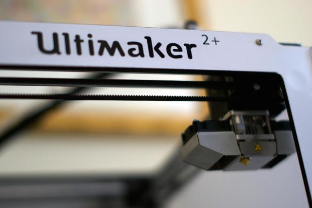 The Ultimaker 2+ 3D printer. (Image courtesy of Volim Photo.)