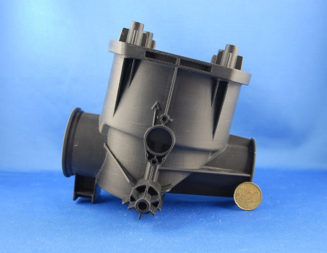 A 3D-printed component produced on a 3ntr 3D printer. (Image courtesy of Plural AM.)