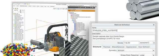 Granta Material Database Available in Creo 4 0 > ENGINEERING com